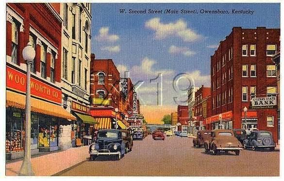 Owensboro KY 1940