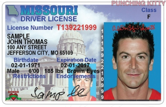 mo drivers license