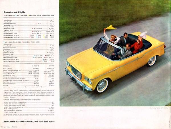 1960 Studebaker Lark CC