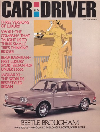 1971 Car and Driver Cover