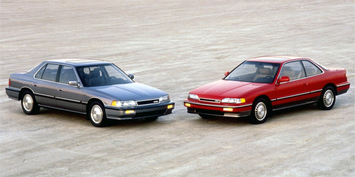 Legend Sedan And Coupe