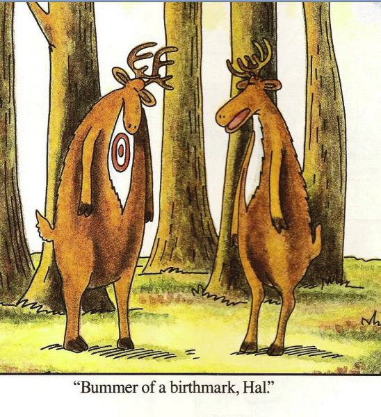 The Far Side created by Gary Larson and syndicated by Universal Press Syndicate