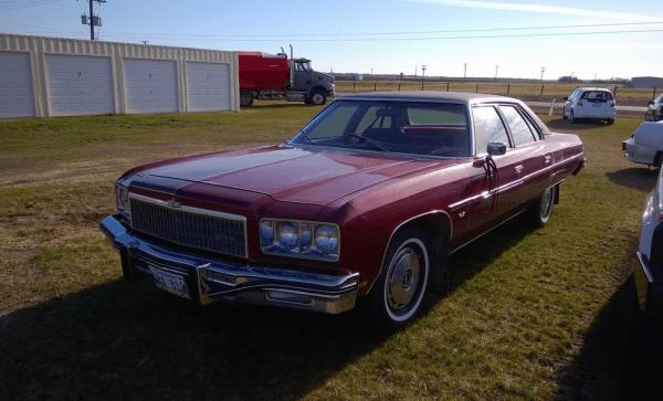 Chevrolet 1975 caprice sedan fq