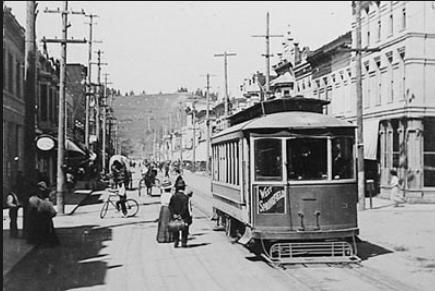 Eugene trolley dt
