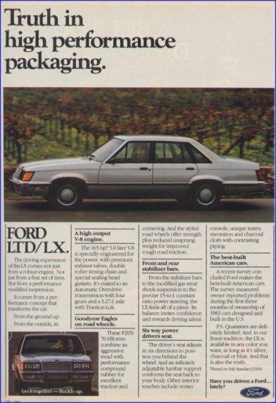 Ford LTD LX5.0