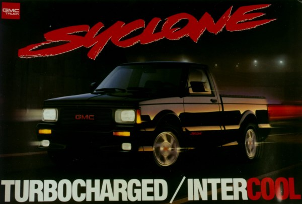 GMC Syclone Poster