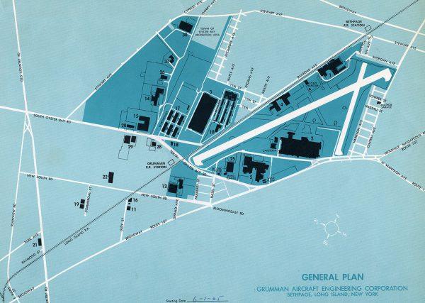 Grumman Bethpage Long Island NY facility