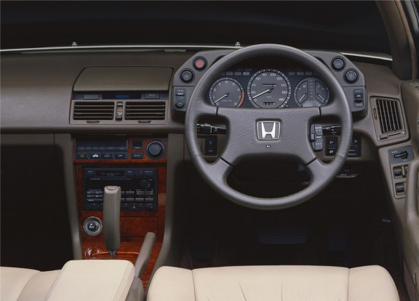 Honda Legend Coupe interior