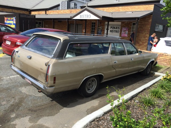 ford falcon ltd australia wagon 4