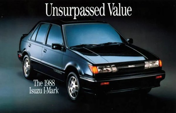 isuzu i-mark 1988 turbo sedan