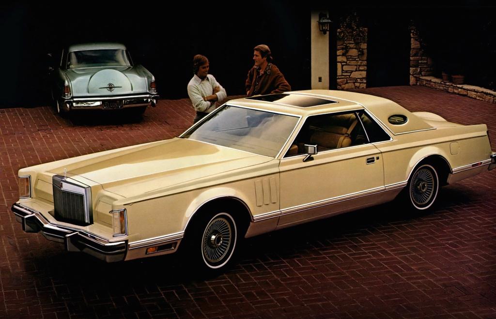 Car Show Classic 1978 Continental Mark V Diamond Jubilee Edition