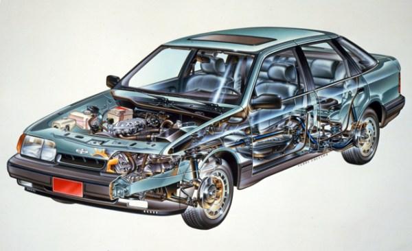 1988 Merkur Scorpio cutaway