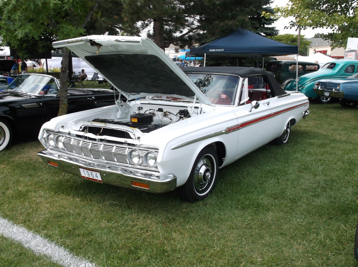 Car Show Classic : 1964 Plymouth Fury Convertible – Bridging the ...