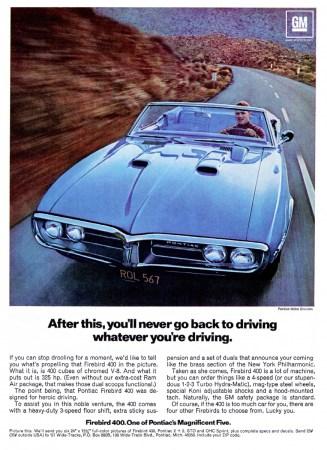 1967 Firebird ad