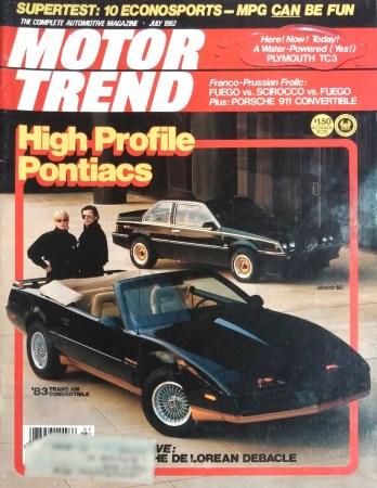 1982 July Motor Trend