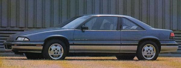 1988 Pontiac Full Line Prestige-GP LE