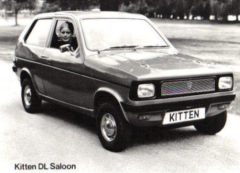 Reliant Kitten DL Saloon Front