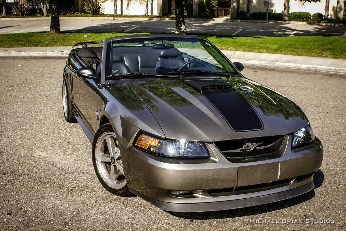 Coal 2001 ford mustang gt convertible time to go topless