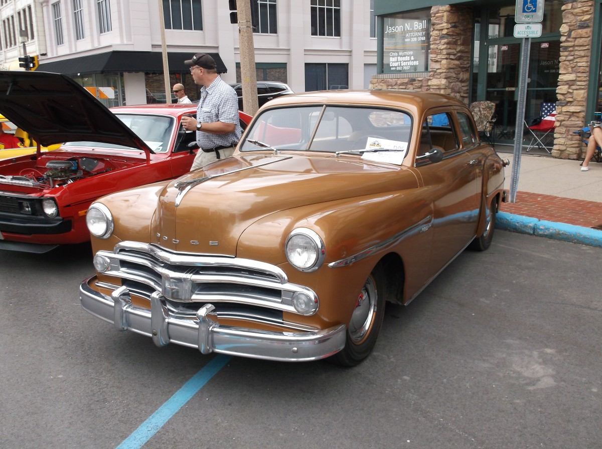Car Show Outtakes: 1947 and 1950 Dodges — I Can\'t Dodge the Evidence ...