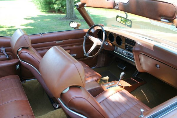 067 - 1971 Pontiac LeMans Sport convertible CC