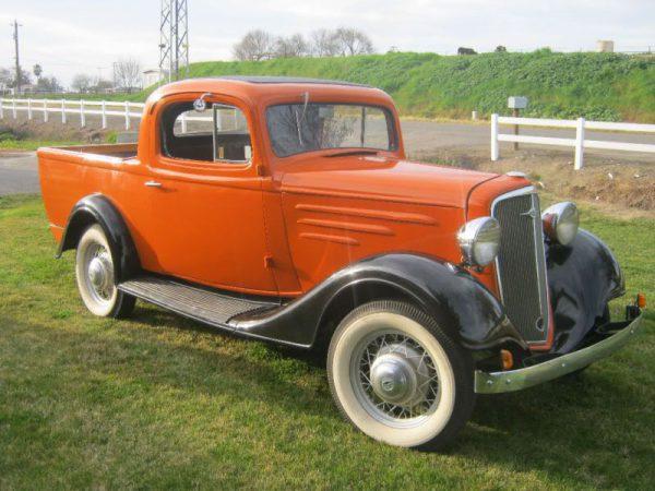 1934 Chev ute
