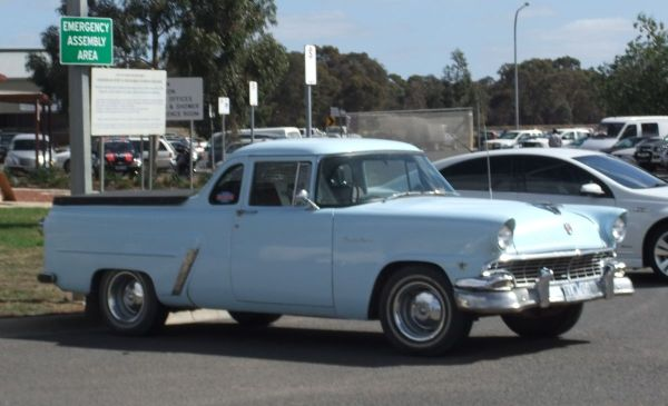 1956 Ford Mainline ute