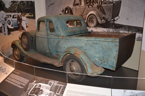 4 1934 Ford Coupe Utility rear