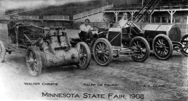 Christie 1908 racers