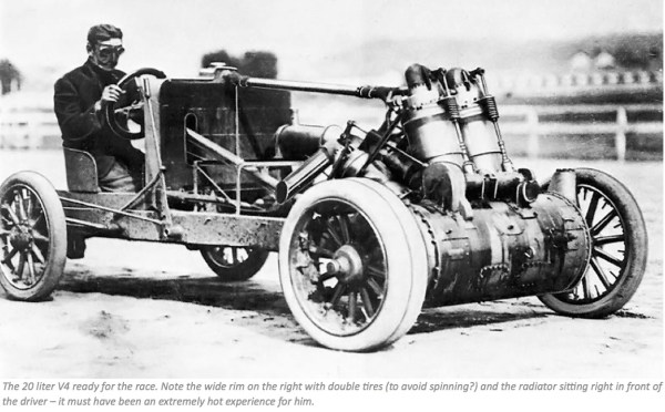 Christie V4 racer 20 l
