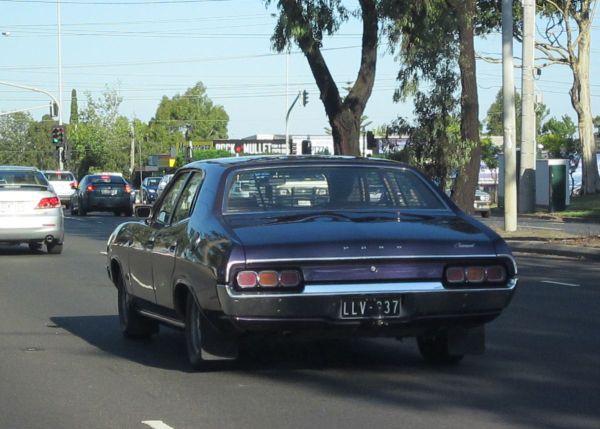 Ford Fairmont XA purple