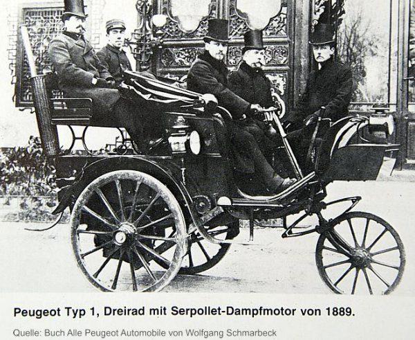 Peugeot 1886 type 1