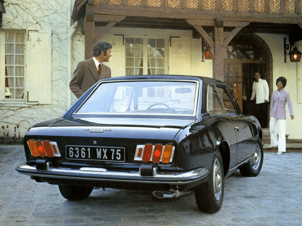 Peugeot 504 coupe 1969 rear