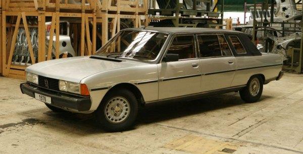 Peugeot 604 Heuliez -Limousine