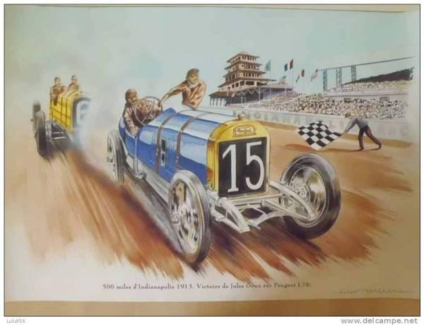 Peugeot L76 Indy 1913
