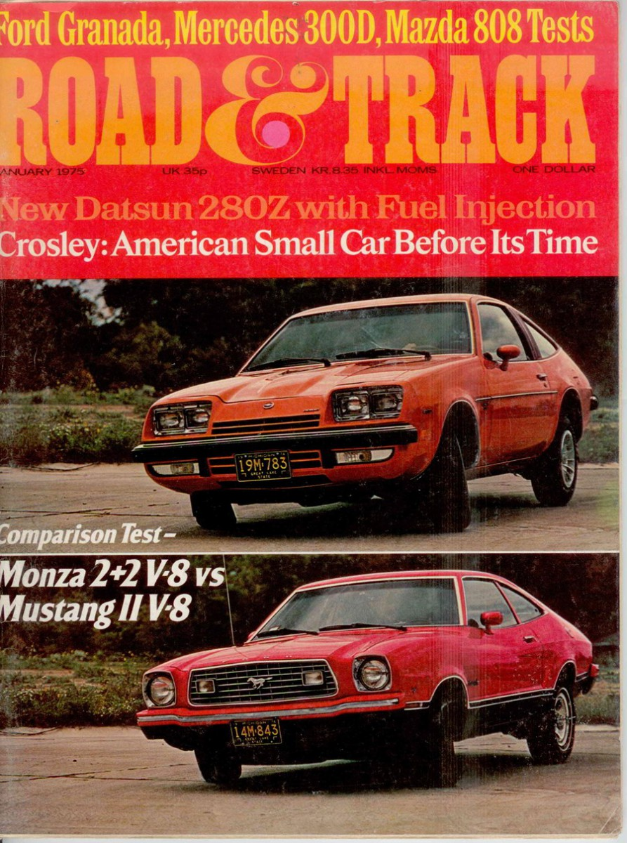 All Types mustang 2 pictures : Vintage Road & Track Comparison: Mustang II V8 vs Monza 2+2 V8 ...