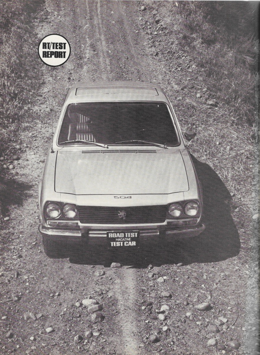 Vintage Reviews 1970 And 1971 Peugeot 504 Dialing The Right