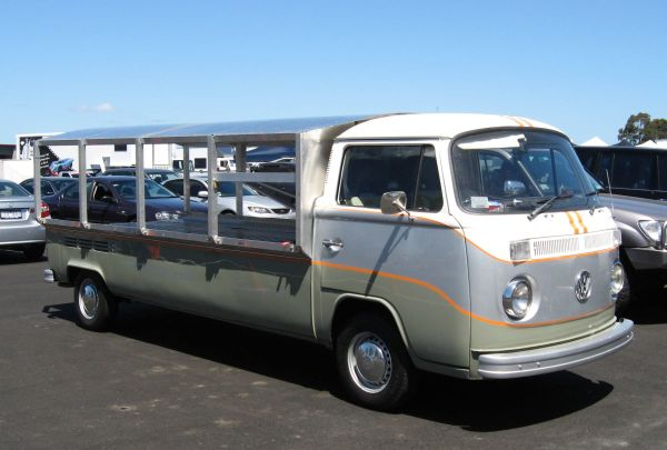 VW race transporter