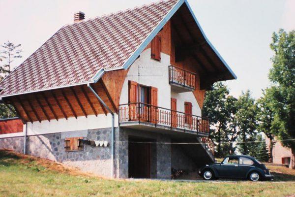 Weekend cabin in the Abruzzi