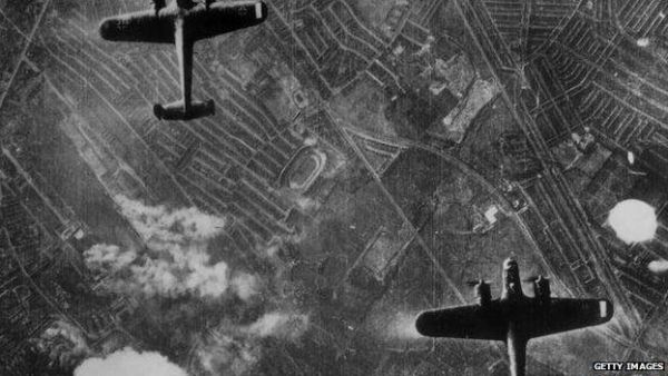 bombers over london