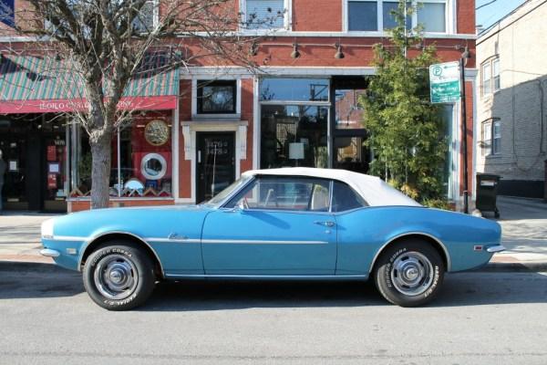 060 - 1968 Chevrolet Camaro Convertible CC