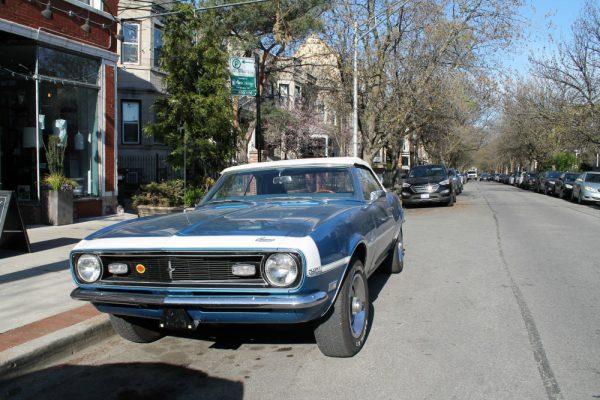 070 - 1968 Chevrolet Camaro Convertible CC