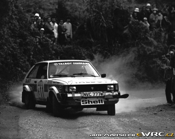 The Scottish-built Sunbeam, with a little help from Lotus, was one of the last WRC winners with two-wheel drive (the rear ones). Peugeot closed the Linwood factory in 1981, thereby ending this model's life on a high.