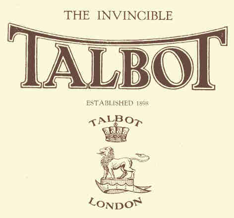The 'Invincible' Talbot, built in the UK from the 1900s to the 1990s… minus a couple of 'vincible' decades…