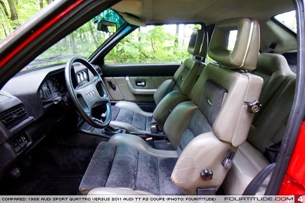 Audi Sport Quattro Interior