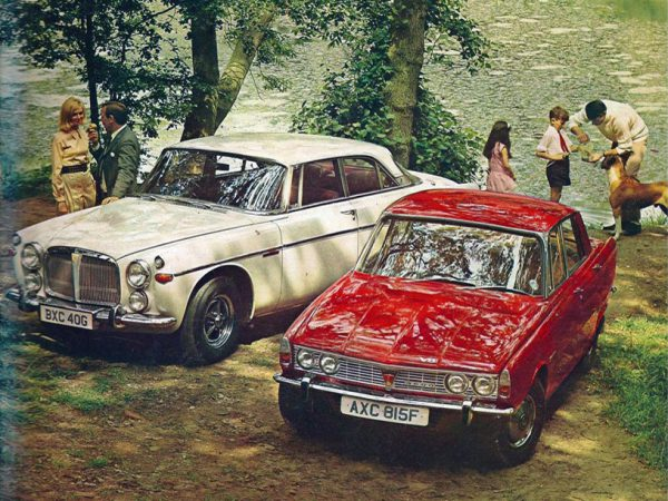 Brochure Cover 1969 Rover