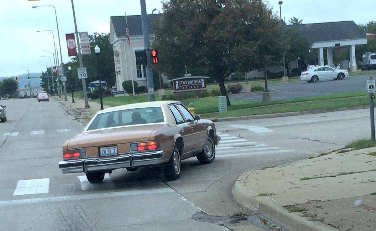 Rolling Outtake 1978 Buick Lesabre B Body Bingo Curbside Classic