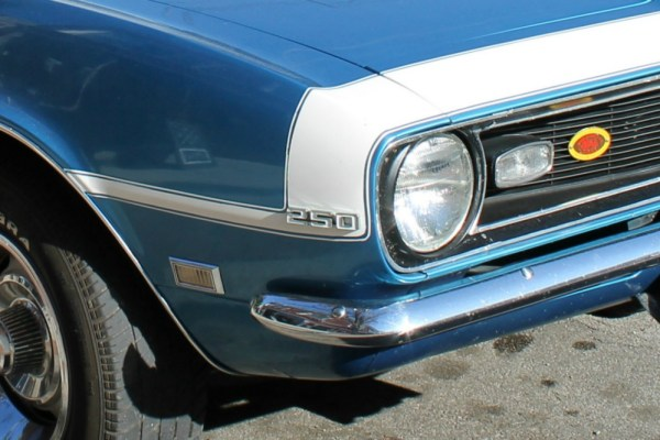 Camaro 1968 six 250
