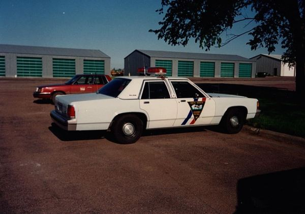 Crown Vic and Reliant in Mitchell SD