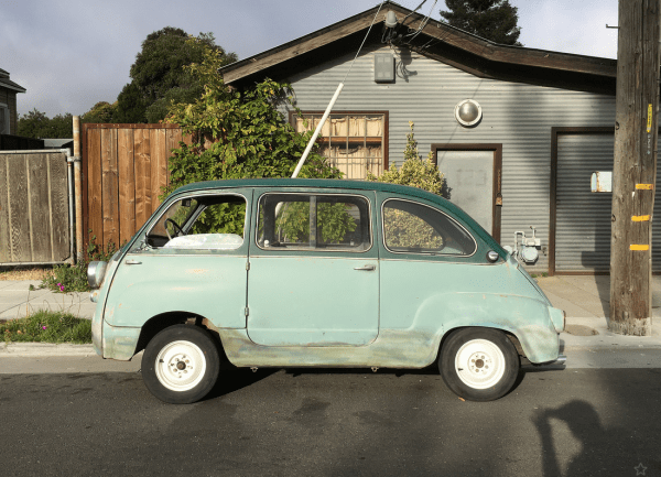 Fiat 600 multipla side