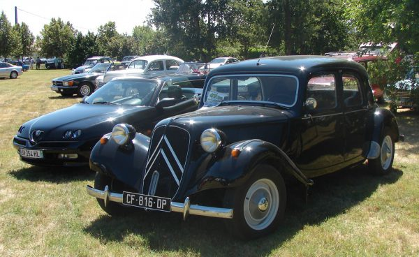 Traction Avant post war